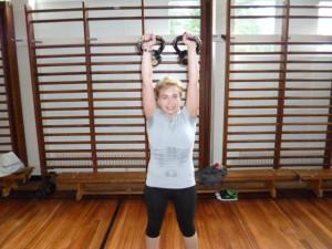 Bristol Kettlebell club member - Jo Malinska