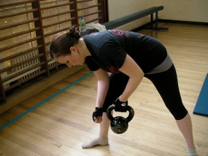 Kettlebell classes bristol - Claire Siggery