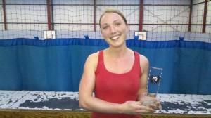 Sam Murray - Winner of Bristol Kettlebell clubs strongest woman contest