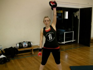 Kettlebell classes - Clare Adamson