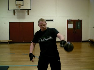 Bristol Kettlebell club member John evans