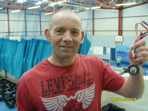 Bristol Kettlebell club - John Burns