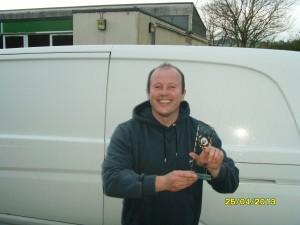 Bristol kettlebell clubs strongest man - Huw