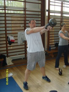 Paul Doddrell - Kettlebell swing