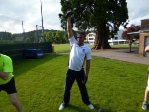 Andy - Bristol Kettlebell club member