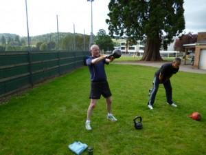Bristol Kettlebell class - Mike Leigh