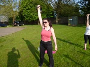 Bristol Kettlebell club member - Julie Baldwin