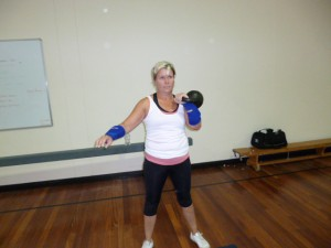 Bristol kettlebell club member - Claire Wilson